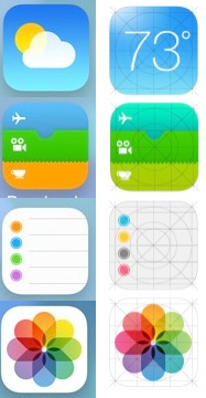 Comparse sul sito Apple alcune icone alternative per iOS 7