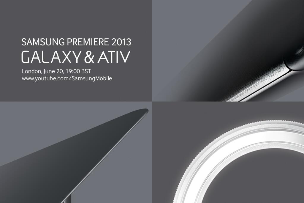 Samsung Premiere 2013 Galaxy & Ativ: ecco le novità presentate sul palco di Londra