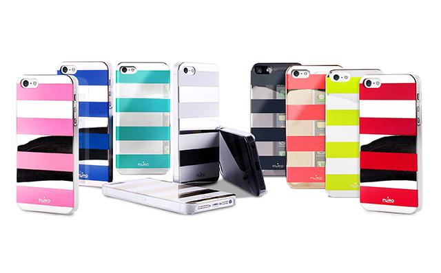 Puro Stripe: la cover colorata con effetto specchio per iPhone 5 | iSpazio Product Review