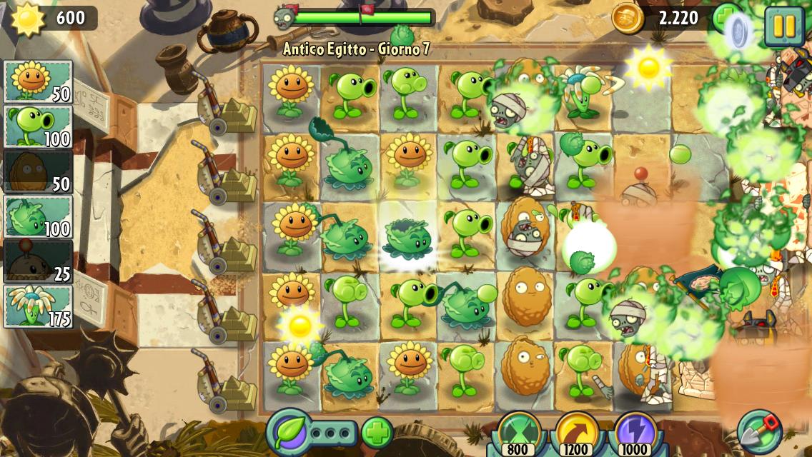 piante contro zombi 2 da