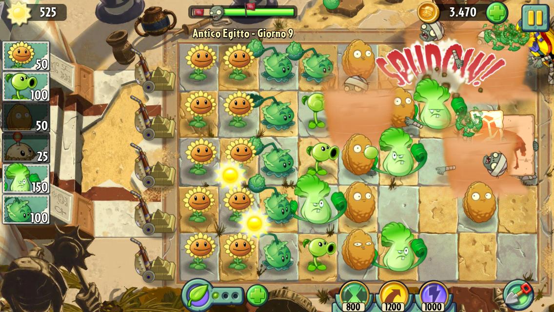 il gioco di piante contro zombi
