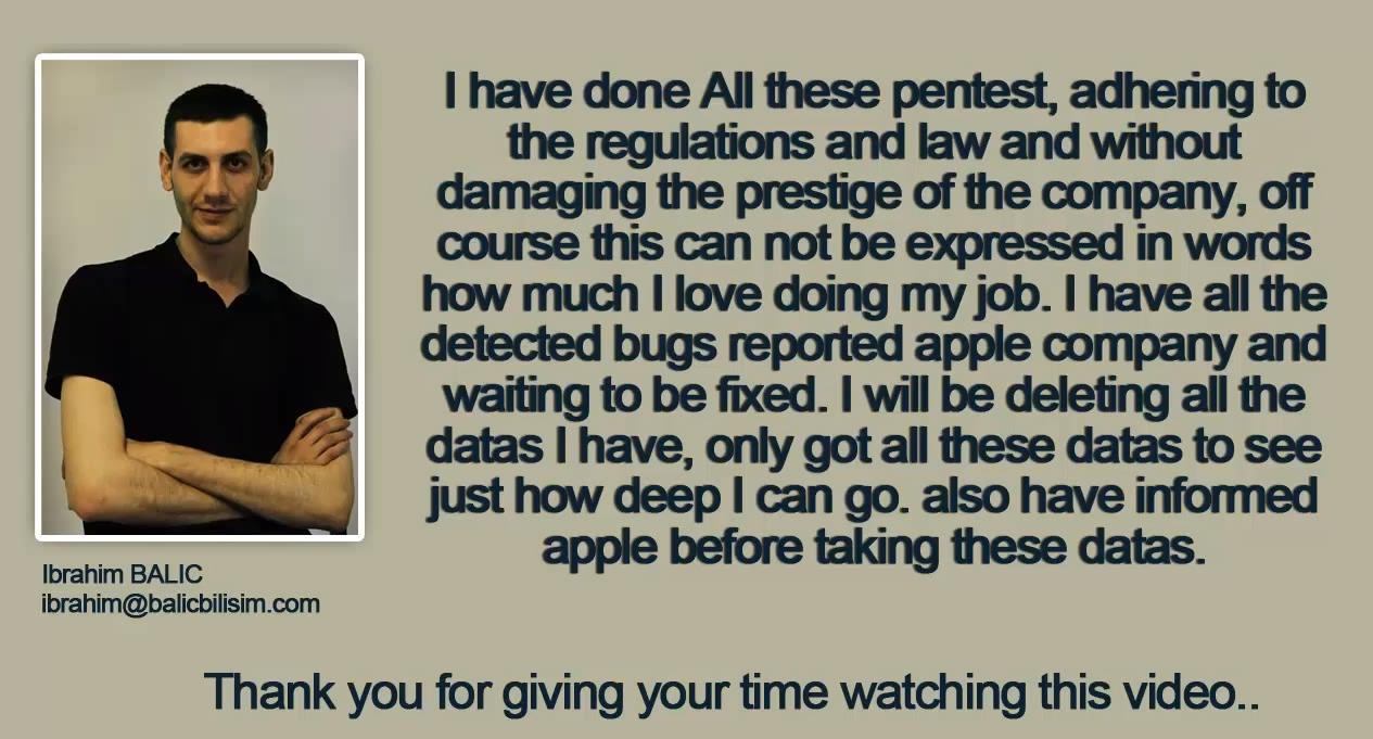 Ricercatore sicurezza Attacco Apple