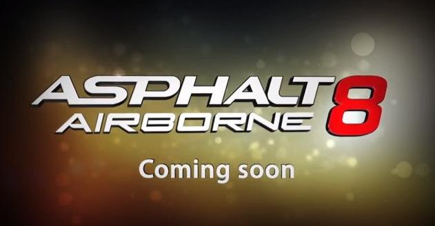 Asphalt 8: Airbone, il nuovo capitolo presto su App Store [Video]
