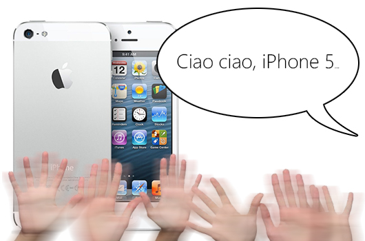 ciao iphone 5