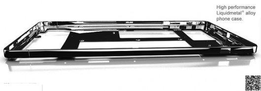 iPhone 5S: la cornice protettiva sarà realizzata in LiquidMetal   Rumor