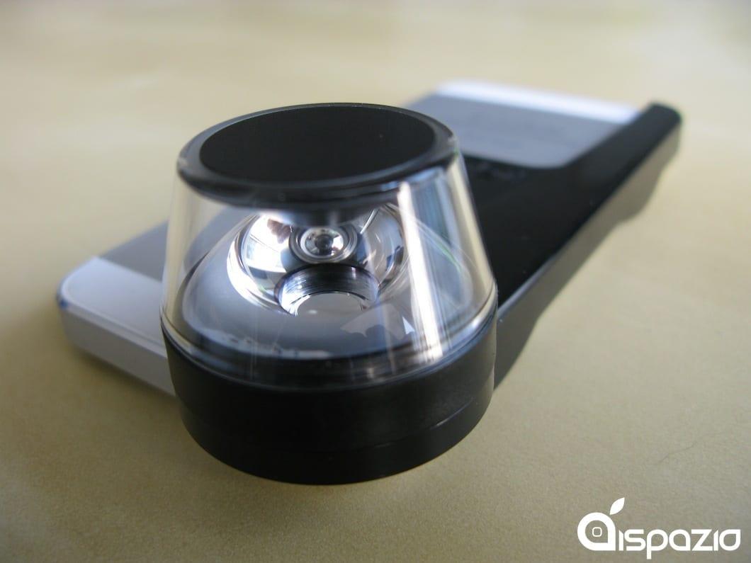 Con l'iPhone è possibile girare incredibili video a 360 gradi grazie alla lente Dot di Kogeto | iSpazio Product Review