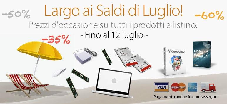 Saldi BuyDifferent. Sconti fino al 60%: upgrade RAM da 64,90 euro, nuovi SSD e ritorno dei Mac potenziati