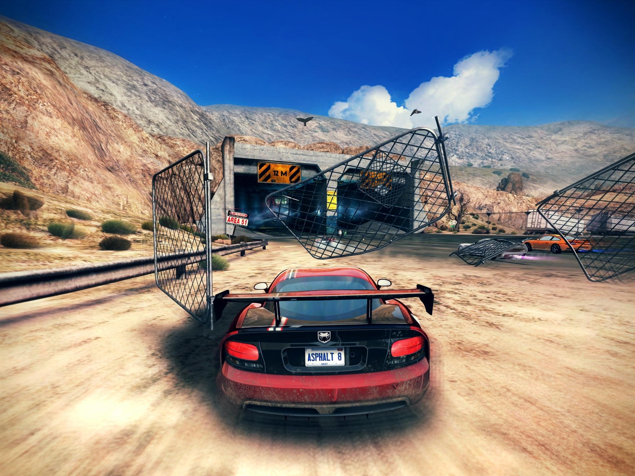 Asphalt 8: Airborne, il nuovissimo capitolo del famoso gioco di corse automobilistiche da domani in AppStore!