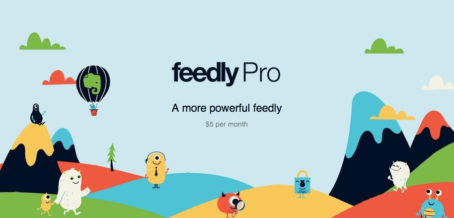 Feedly diventa Pro: funzionalità aggiuntive a soli 99$ per tutta la vita, ma solo ai primi 5000 utenti