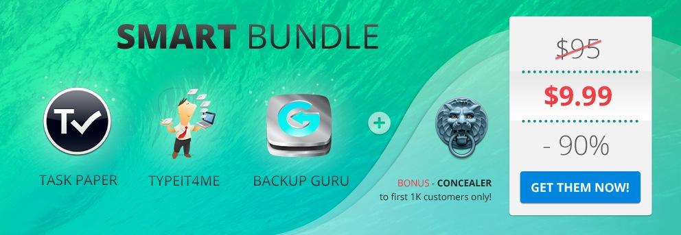 Bundle di AppyFridays: 3 applicazioni in offerta a soli 10$