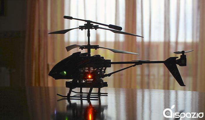 Elicottero Telecomandato Con Telecamera : Ispy helicopter l elicottero telecomandato da ios con