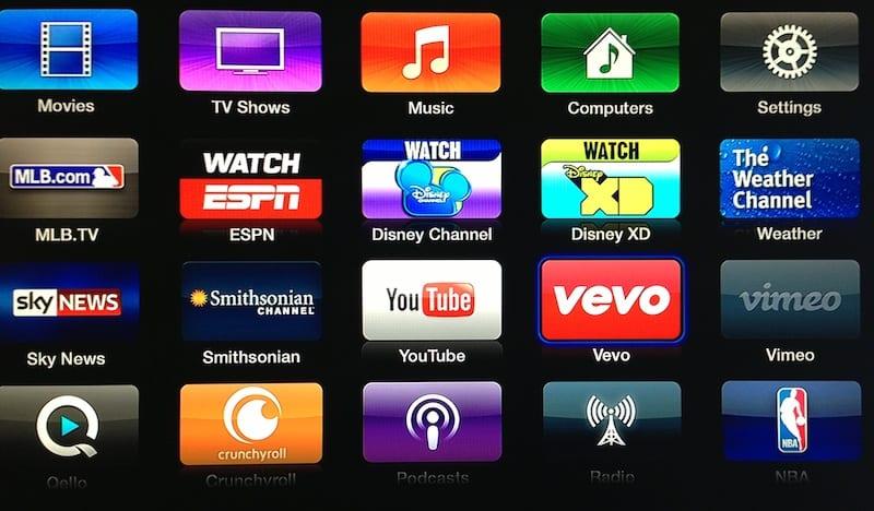 vevo apple tv