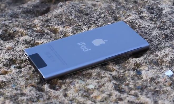 Il nuovo iPod nano 'grigio spaziale' compare in un video su Youtube