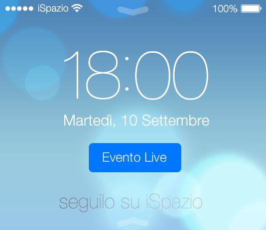 Evento Apple 10 Settembre in diretta su iSpazio