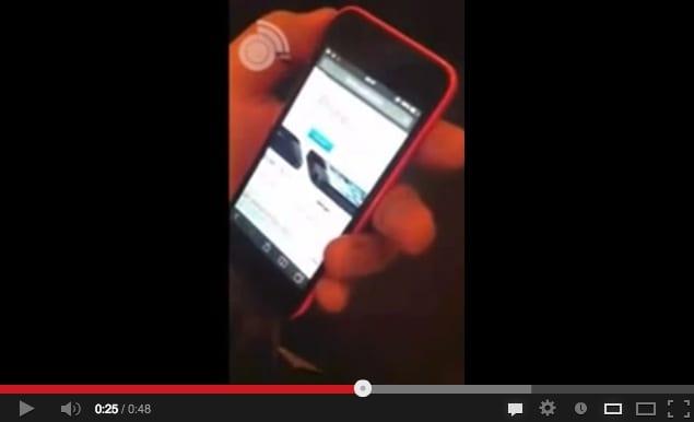 iPhone 5C in azione: su YouTube il primo video del modello in rosso [Fake?]