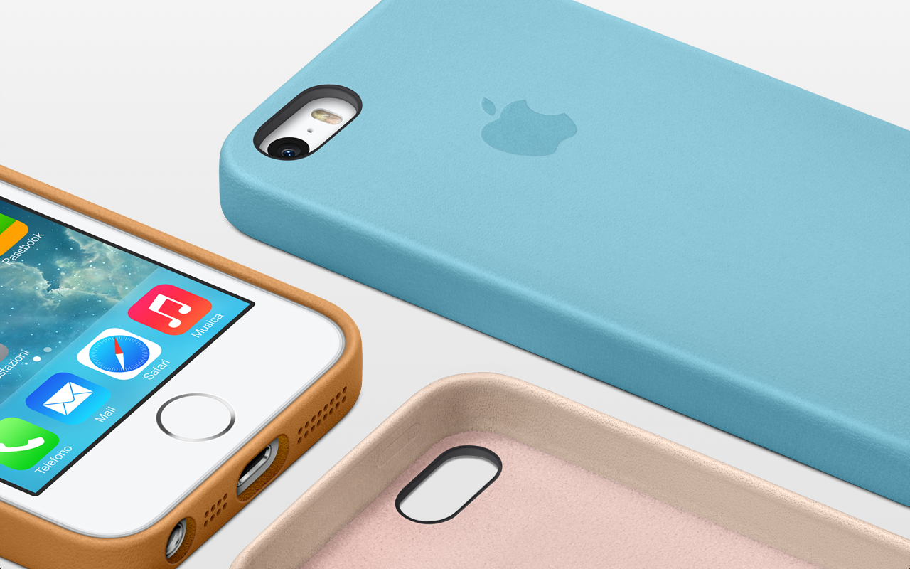 Presentate le nuove custodie per iphone 5s ed iphone 5c for 5 case nuove di zecca