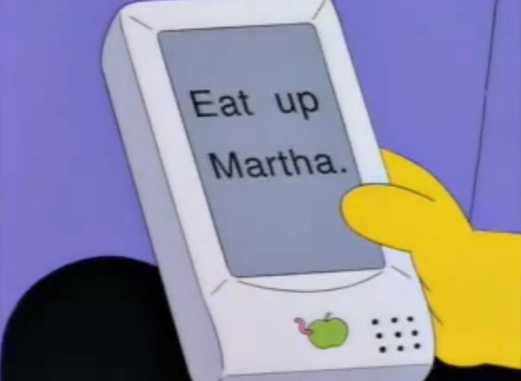 Se la tastiera di iPhone è così, il merito è dei Simpson!