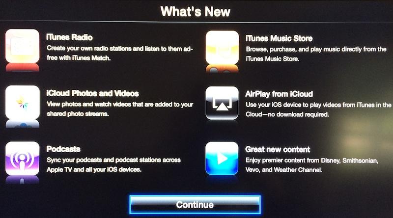 L'aggiornamento 6.0 per Apple TV torna disponibile