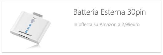 batteria amazon 30pin