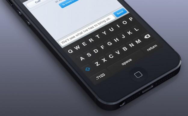 La tastiera di iPhone ed iPad potrebbe introdurre le gesture per sostituire le azioni più comuni
