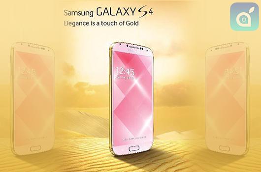 Samsung, dopo Apple, annuncia che venderà il Galaxy S4 nella colorazione oro!