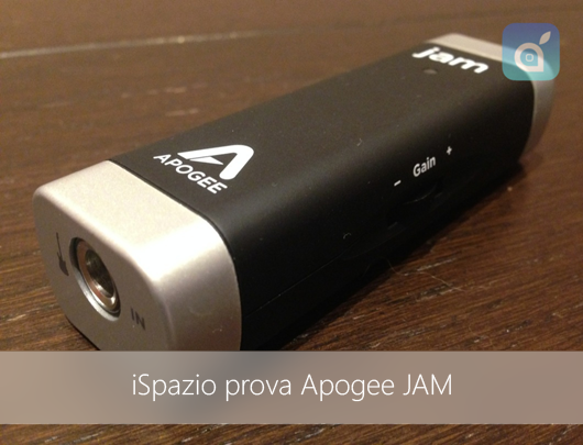 iSpazio-apogee JAM-4