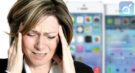 Mal di testa? Nausea? il problema potrebbe essere iOS 7!