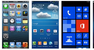 Photo of iOS 7, iOS 6, Android, Windows Phone 8 e BlackBerry 10 a confronto: qual è il migliore?