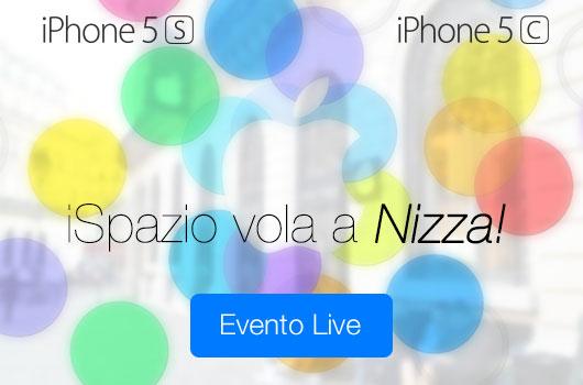iSpazio vola in Francia per acquistare i nuovi iPhone 5S ed iPhone 5C. Seguite il LIVE con noi, in diretta da Nizza e sfruttate tutti i nostri consigli