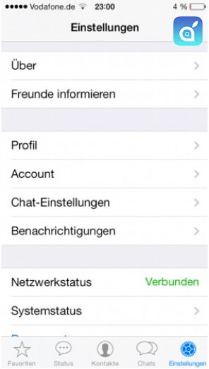 Controllare le chat whatsapp