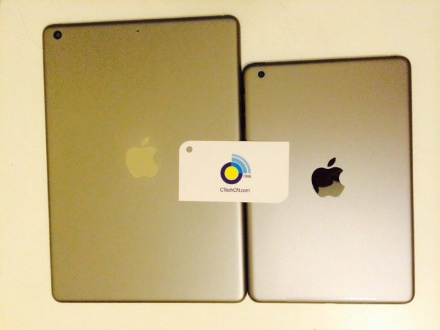 Sono questi i case di iPad 5 ed iPad Mini 2 in versione oro?