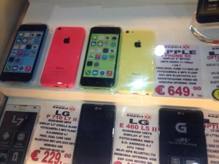 iphone 5 c prezzo expert