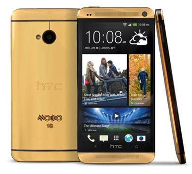 Anche HTC pensa a uno smartphone dorato: One in oro 18 carati costerà ben 4.400$