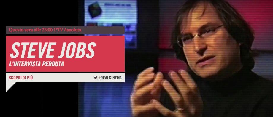 Stasera va in onda 'Steve Jobs, l'intervista perduta'