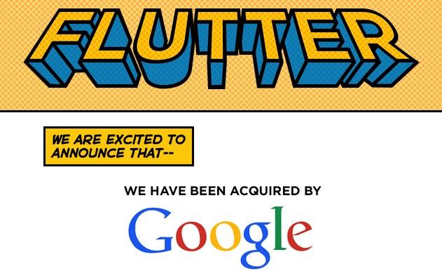 Google è interessata alle Air Gestures: si comincia con l'acquisizione di Flutter!