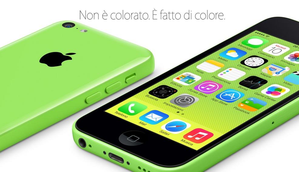 Prezzo confermato: in Italia, Apple venderà l'iPhone 5C a partire da 629€