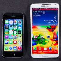Screen-comparison-Galaxy-Note-3-vs-iPhone-5s-and-other-flagships