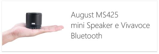 Speaker august