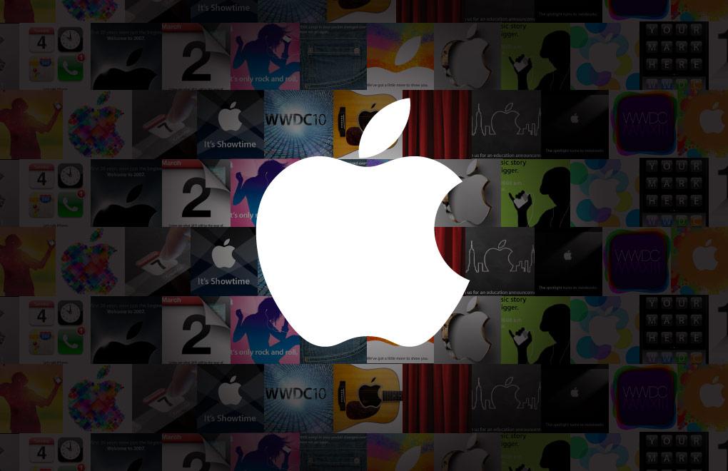 Gli ultimi 10 anni di Apple visti dai suoi stessi inviti agli eventi