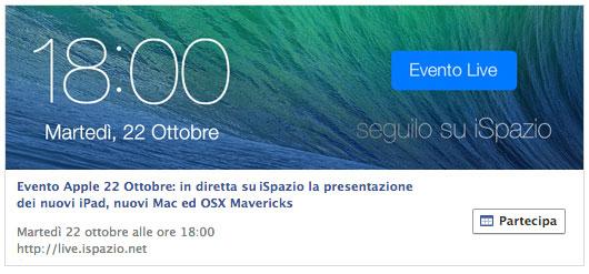 evento-facebook-ispazio-22-ottobre-apple