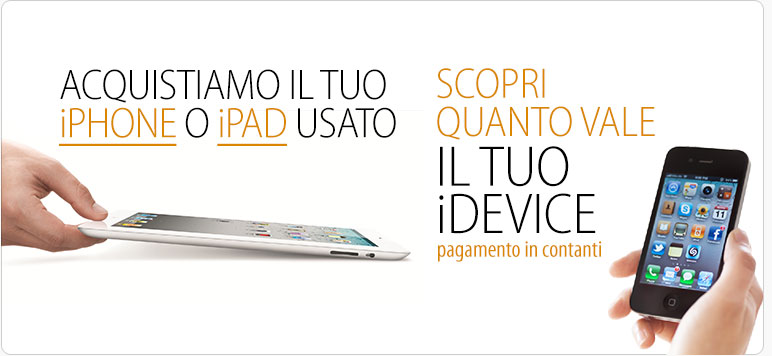 Vendi il tuo iPhone o iPad usato comodamente da casa con BuyDifferent