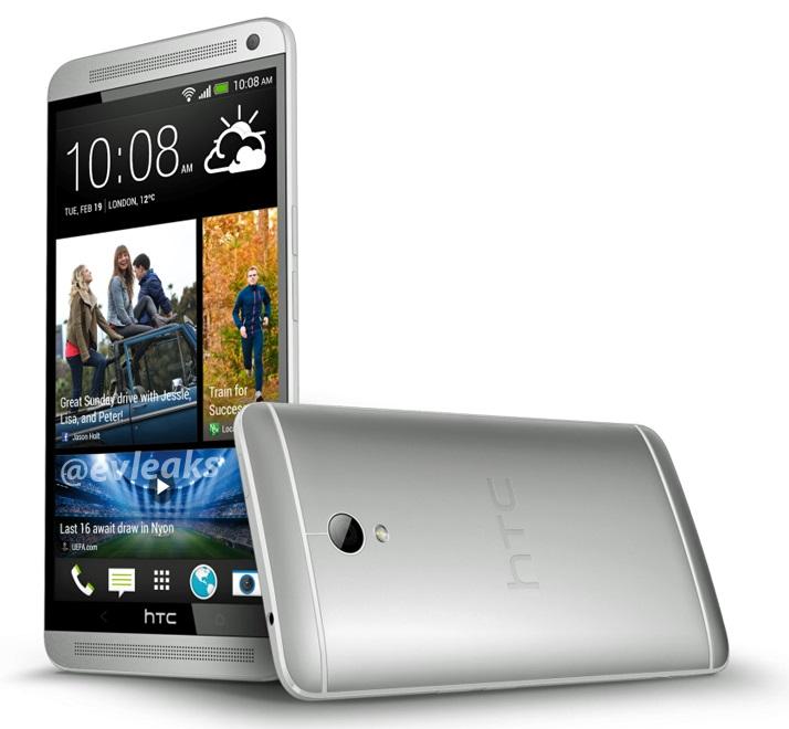 HTC One Max: il top di gamma HTC ora con display da 5.9 pollici e lettore di impronte digitali [Video]