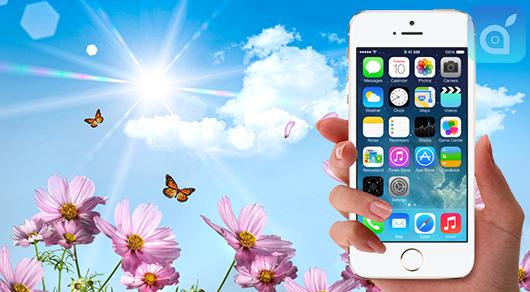 iPhone ricarica solare