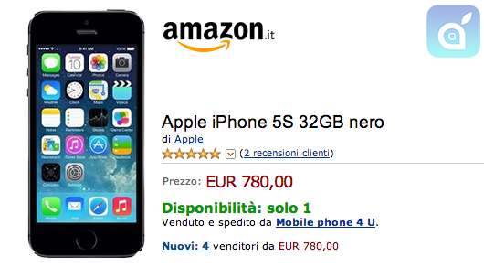 iPhone5s amazon