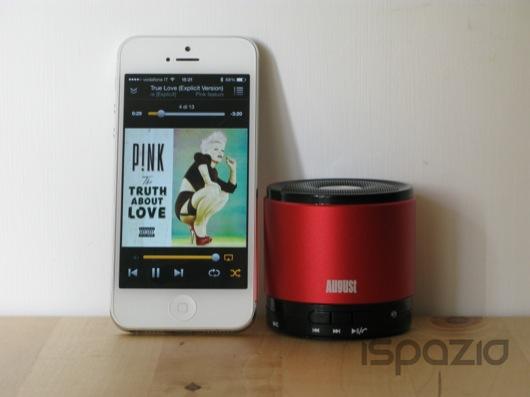 Mini Speaker e Vivavoce Bluetooth August MS425: piccolo, portatile, potente ed economico! | iSpazio Product Review