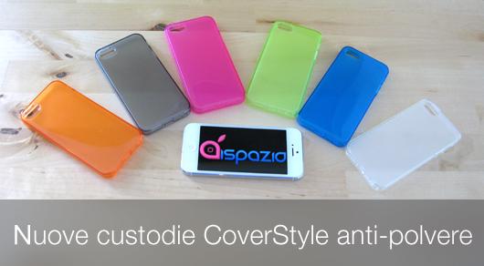 Nuova Custodia Dust Matt CoverStyle Anti-Polvere Flessibile Trasparente per iPhone 5/5S al 50% di sconto | iSpazio Product Review