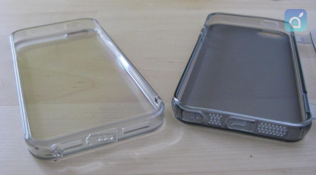 Custodia Book Flip Anti-Polvere Flessibile Trasparente per iPhone