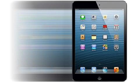 L'iPad mini ha il touchscreen più veloce di tutti i tablet