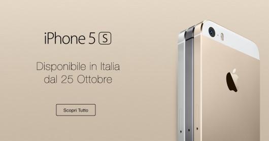 iphone 5s in italia 25 ottobre