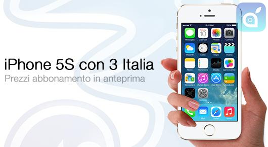 iphone5s 3italia ispazio2